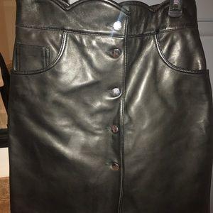 d3d079671 Maje Skirts   Journey Leather Mini Skirt   Poshmark